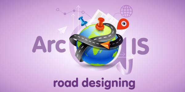 طراحی مسیر در ArcGIS